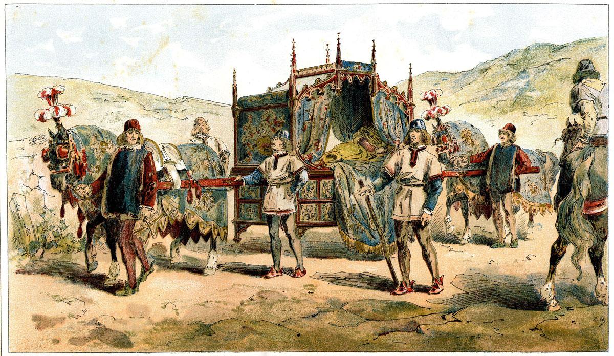 Duc de Bourgogne au 15e s.